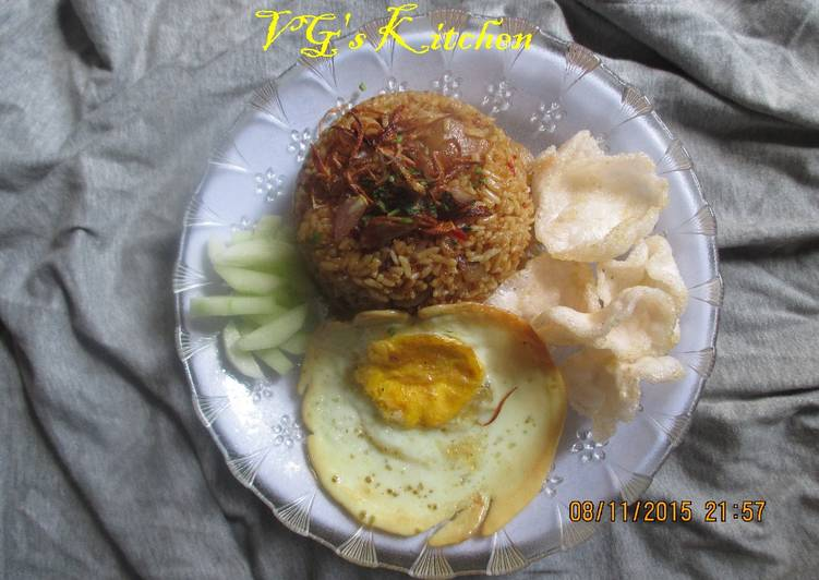 Recipe: Delicious Tripe Fried Rice from Semarang (NASI GORENG BABAT – SEMARANG)