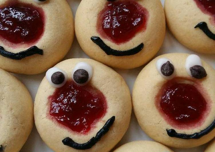 Vickys Red Nose Day Cookies, GF DF EF SF NF