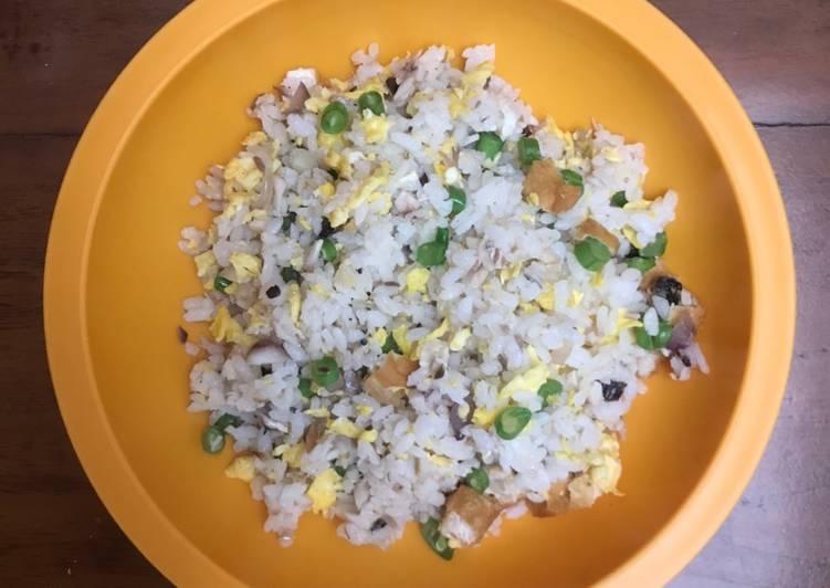 Makanan Anak Nasi Goreng Ikan Salem Tahu Goreng Buncis