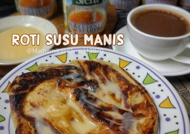 Roti Susu Manis - resepipouler.com