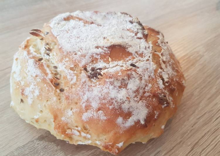 Boule de pain sans pétrissage