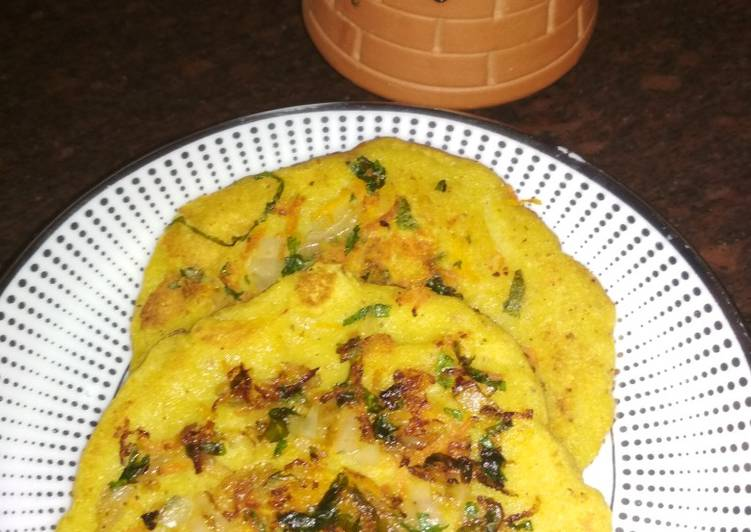 What are some Dinner Ideas Speedy Veg besan pancakes