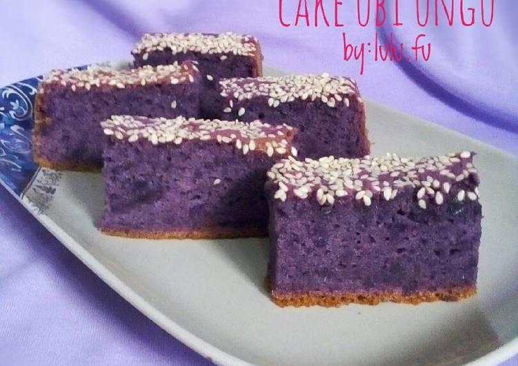 Resep Cake Ubi Ungu Oleh Lulufu Cookpad