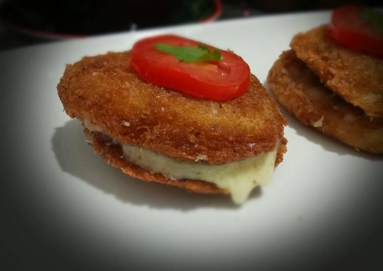 Cheesy potatoes (non baked)