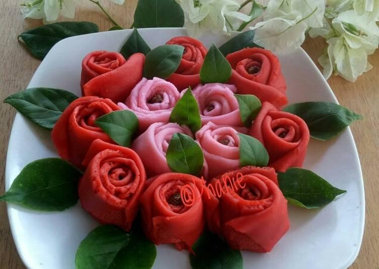 Dadar gulung mawar