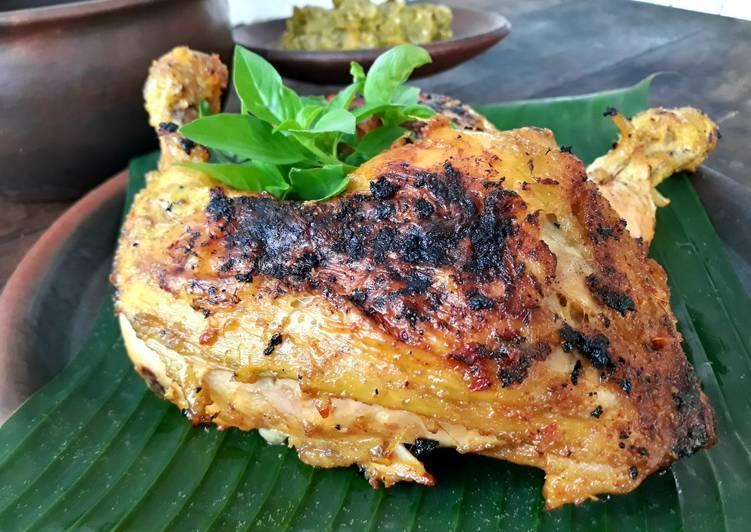 Ayam Bakar ala Nasi Padang