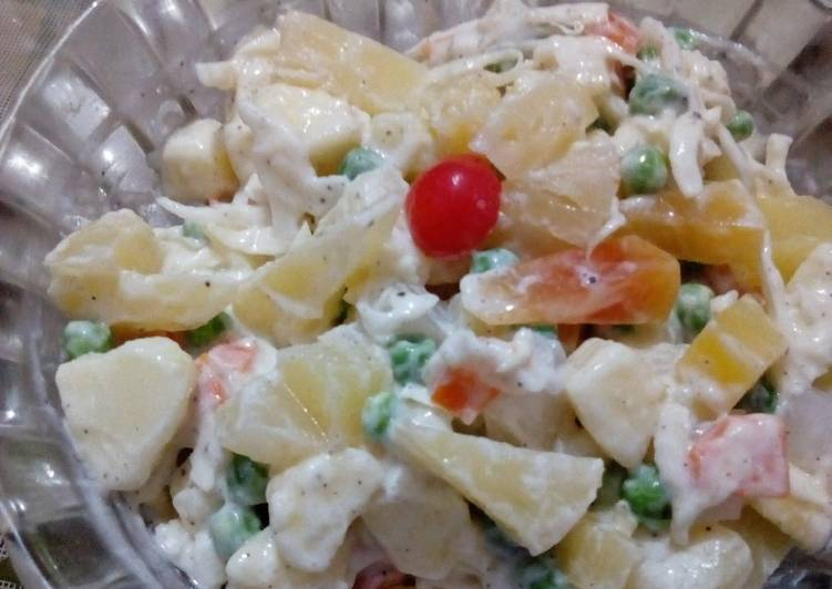 30 Minute Simple Way to Make Diet Perfect Russian salad