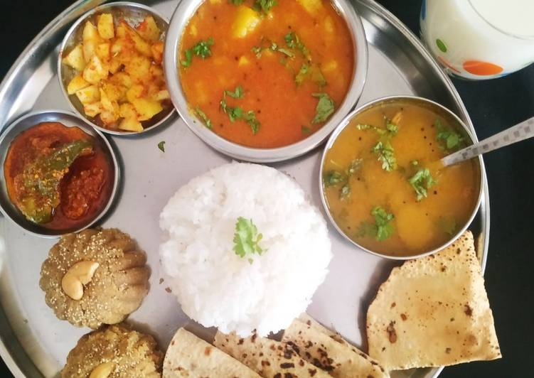 10 Minute Easiest Way to Prepare Special Gujarati feast for Ganesh Chaturthi