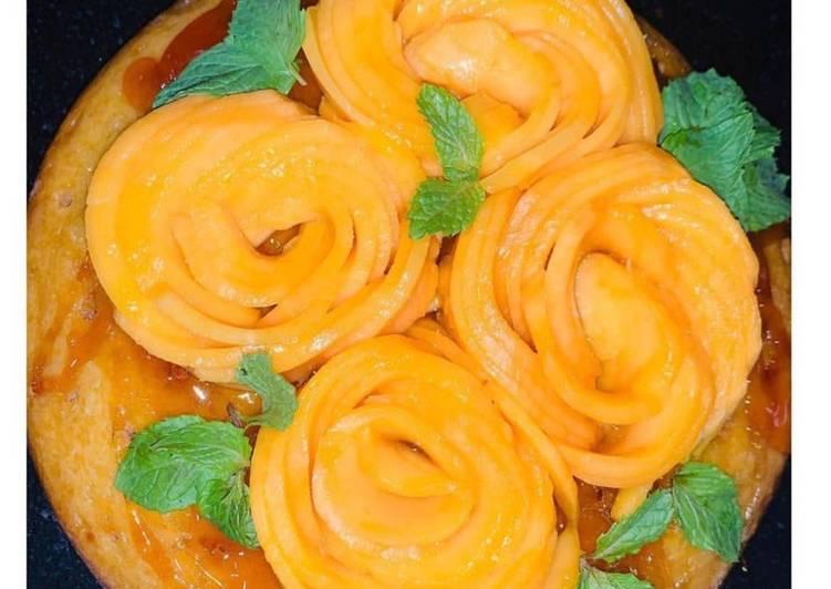 How to Prepare Perfect Mango cake
