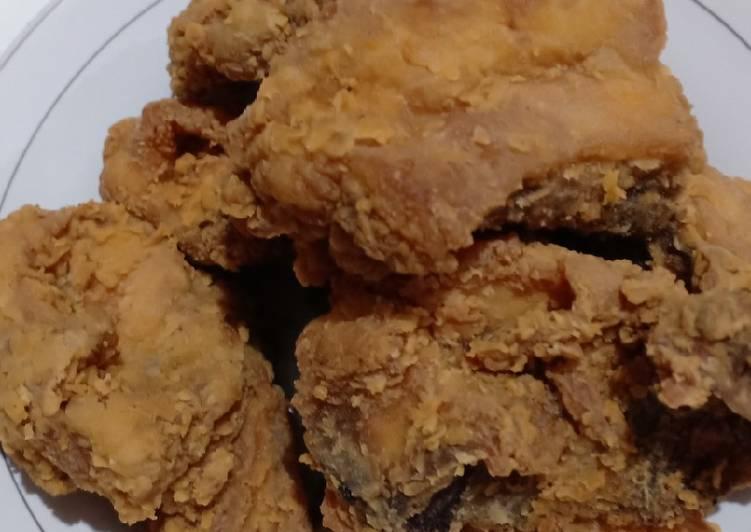 Resep Ayam crispy Anti Gagal