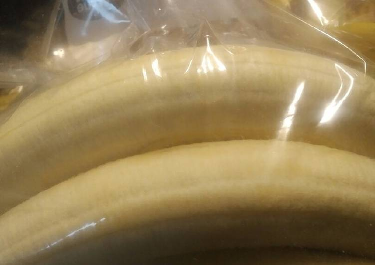Easiest Way to Prepare Appetizing Preservation of the Banana, the easy way