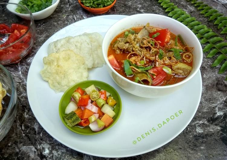 Resep Soto tangkar Anti Gagal