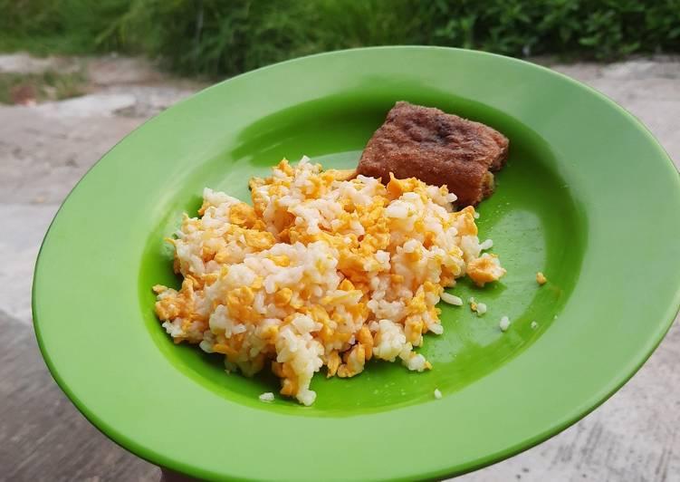 Nasi goreng mentega simple