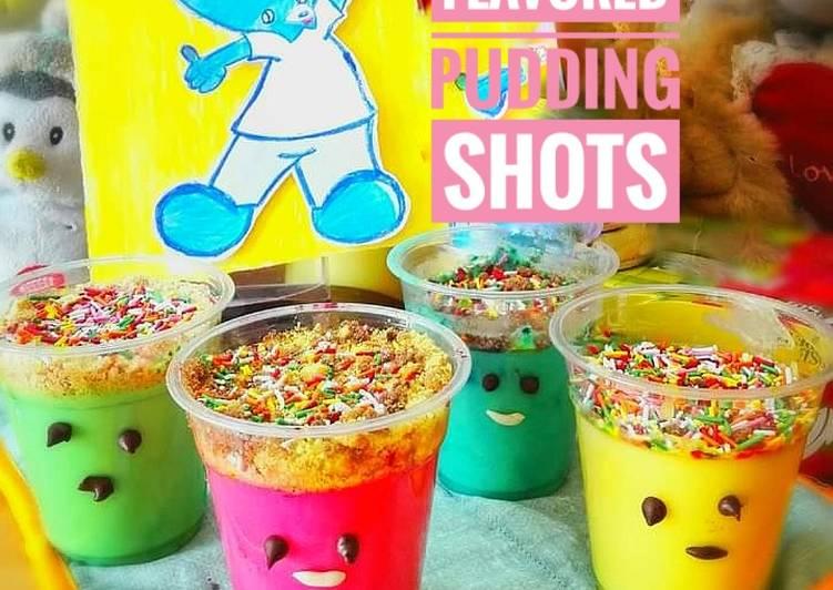 Banana Pudding Shots