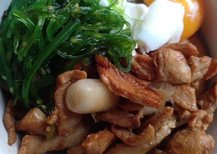 Bowl Pollo estilo coreano 🍜