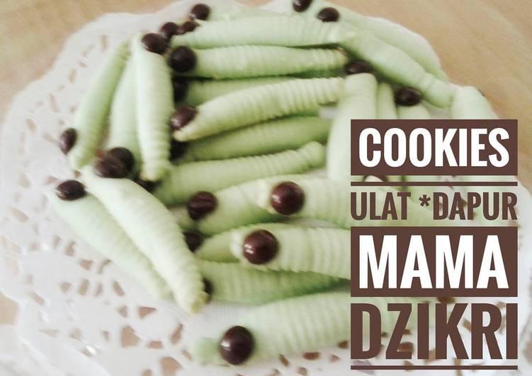 Cookies Ulat Pucuk