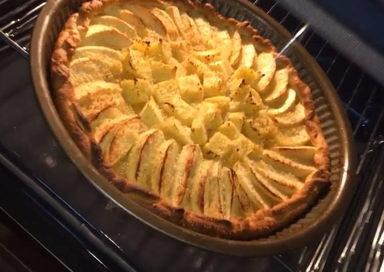 Tarte aux pommes 🍏 et à l'ananas 🍍