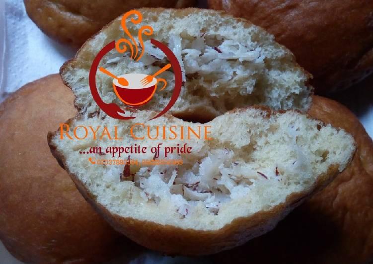Recipe: Delicious Coconut puff puff