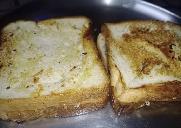 Cheese Paneer Grilled Bread Sandwich