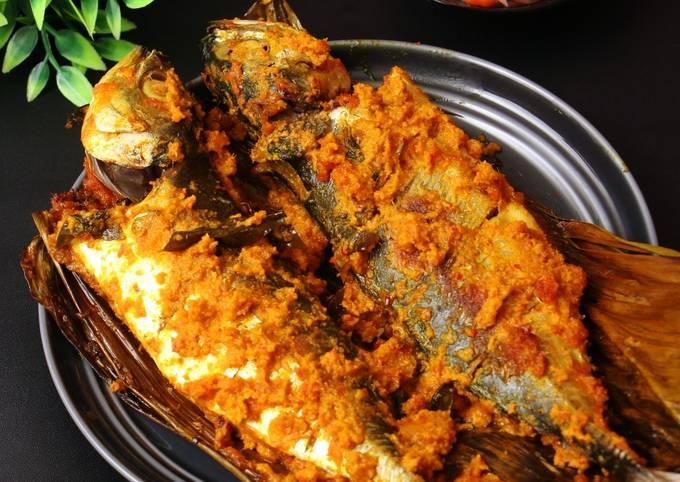 Ikan Bakar sambal Kecombrang
