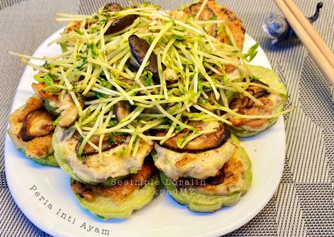 Peria Inti Ayam/Peria Sumbat (Chinese Style Eat Clean Healthy Diet)