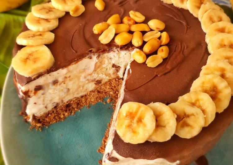 Schoko-Bananen-Eistorte