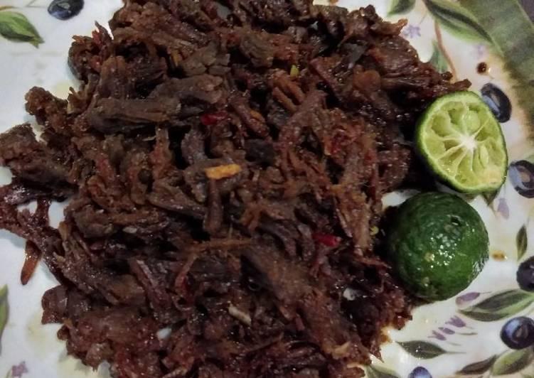 Cara Resep Daging Sapi Suwir Pedas Nikmat