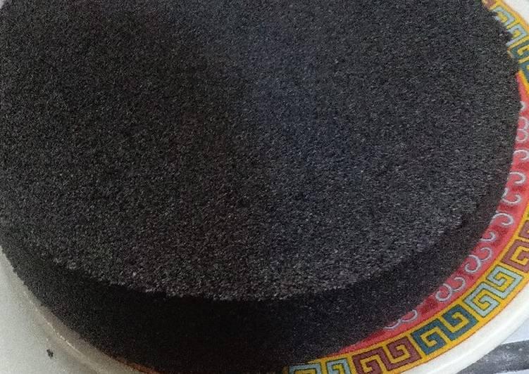 cara membuat Bolu ketan hitam legit - Sajian Dapur Bunda