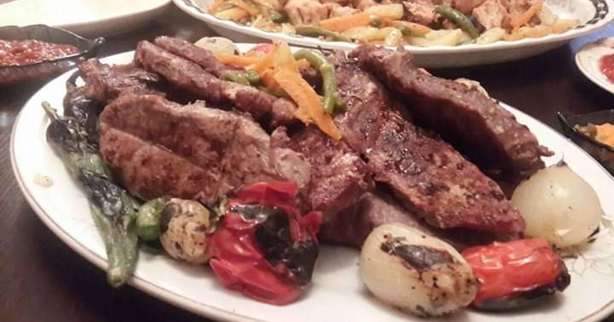 طريقة عمل ستيك لحم مشوي 136 وصفة ستيك لحم مشوي سهلة وسريعة كوكباد