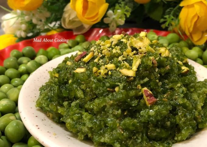Matar Ka Halwa (Sweet Pudding With Peas) – Vegetable Dessert