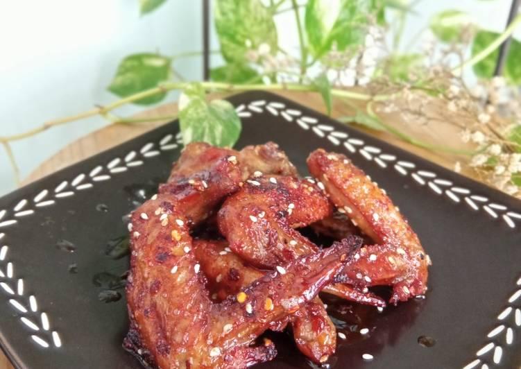 Resep Chicken Wings with Balsamic Vinegar yang Sempurna
