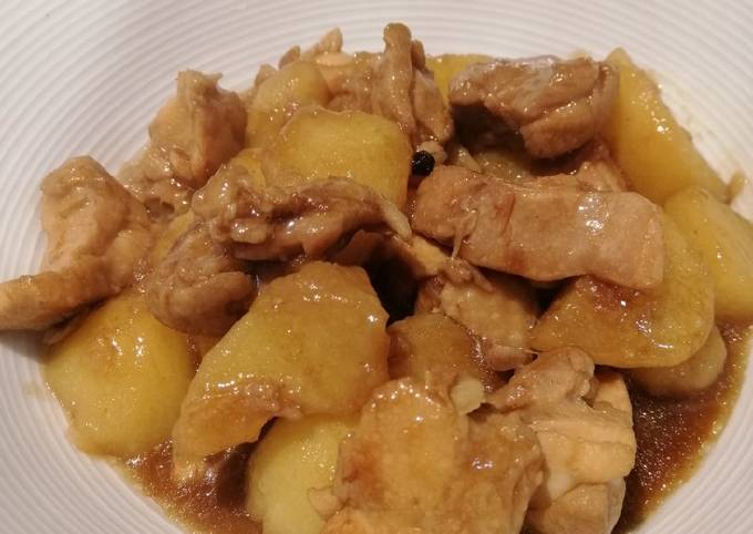 Chicken with Oyster Sauce