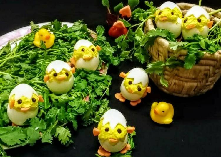Information on How to Improve Your Mood with Food Deviled Egg Chicks