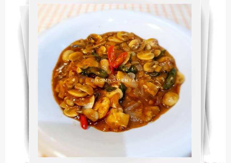 Jamur Champignon Saus Barbeque