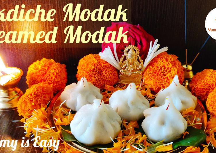Ukdiche modak Steamed modak recipe
