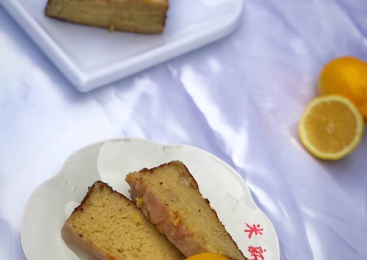 Easiest Way to Make Perfect Lemon cake
