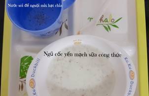 #5 | Ngũ cốc yến mạch sữa công thức or sữa mẹ