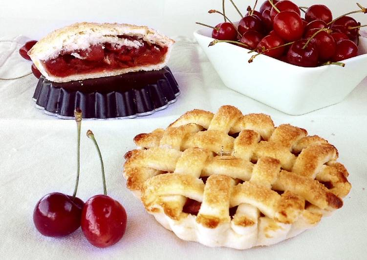 Ricetta Cherry Pie – Crostatine Senza Glutine