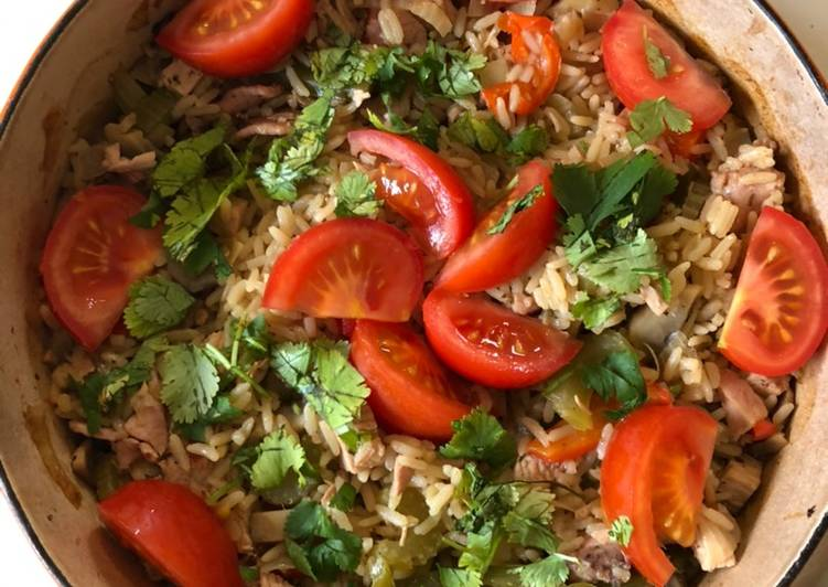 Easiest Way to Prepare Any-night-of-the-week Turkey Pilaf