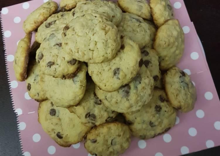 Recipe of Quick Choc Chip Cookies