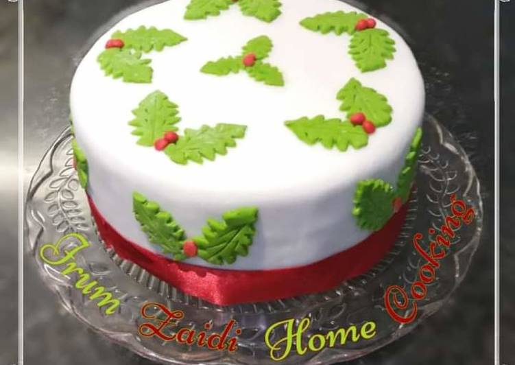 🎄🎂❄☃️Christmas Cake (Fruit Cake)☃️❄🎂🎄