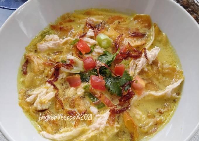 Soto Betawi Ayam (Kuah Santan Susu lezat)