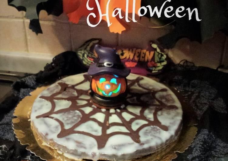Crostata ragnatela Halloween