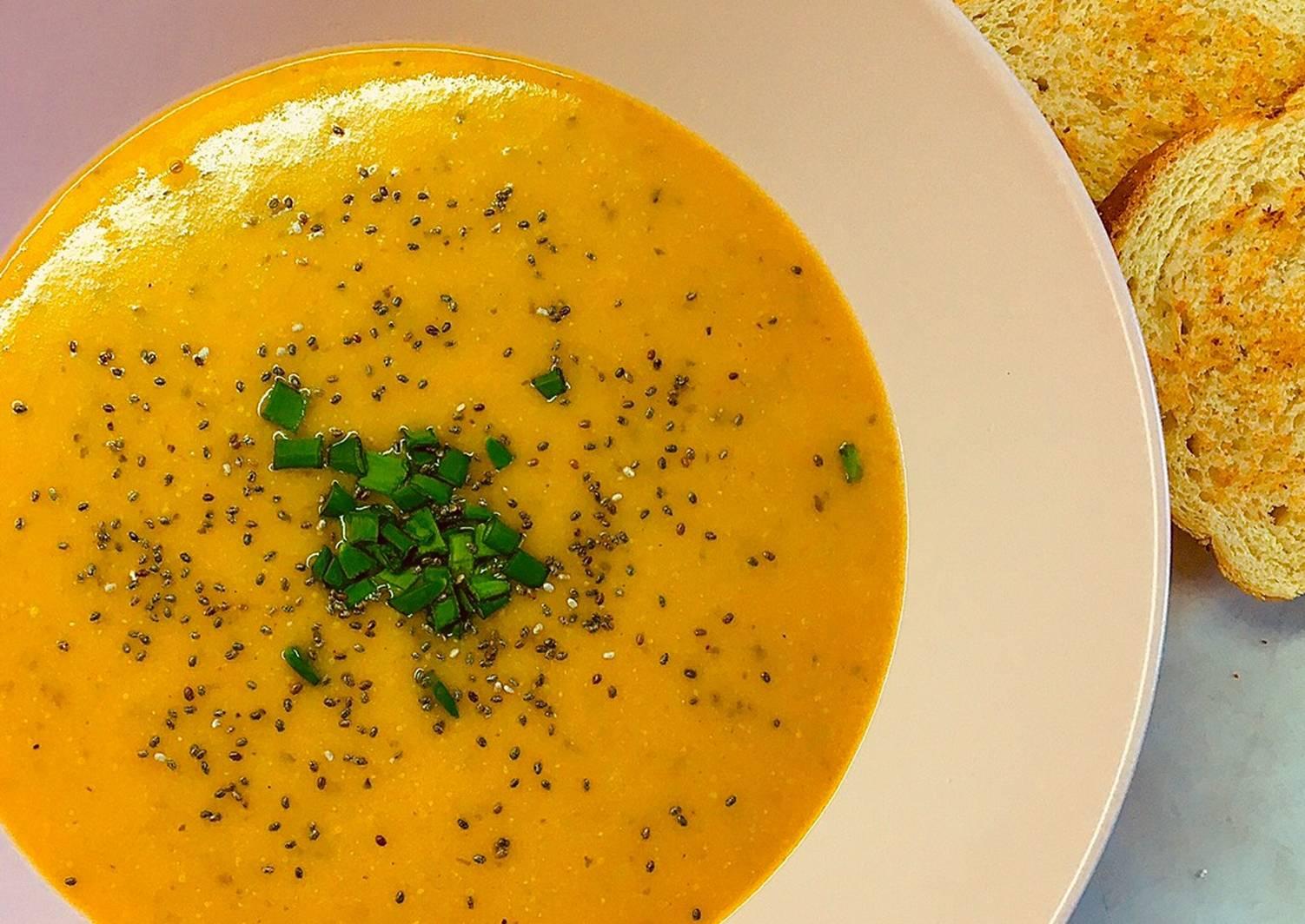 Суп из чечевицы желтой рецепт с фото простых