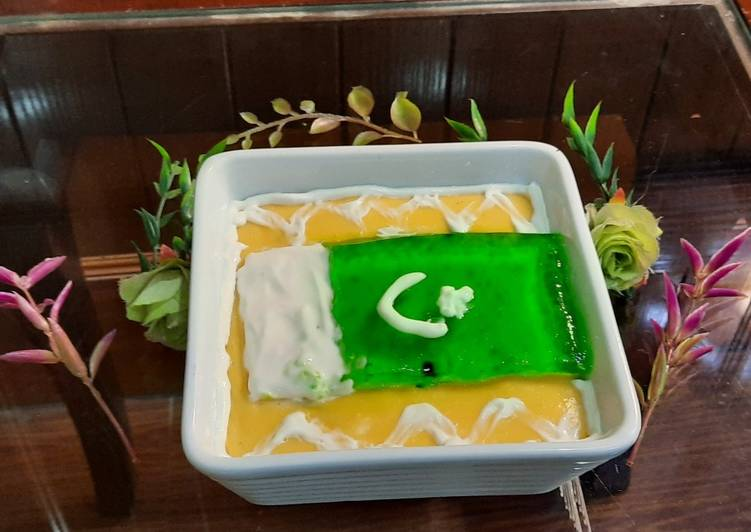 Recipe of Quick Independence day jelly custard