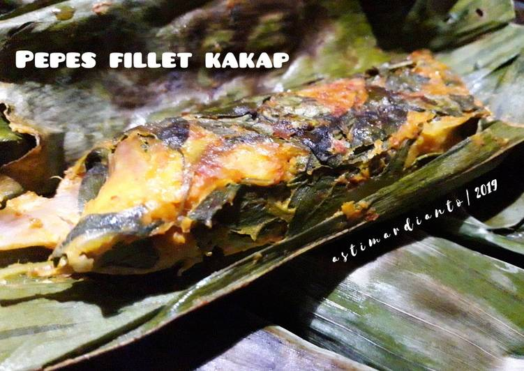 Pepes Fillet Kakap