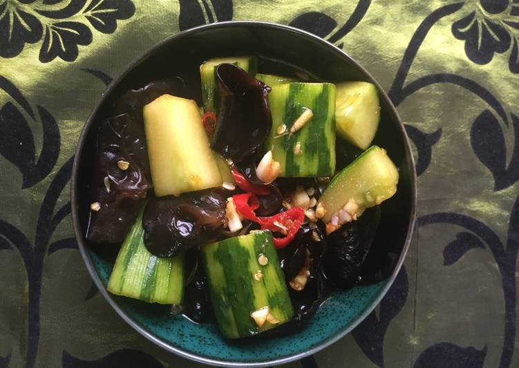 Step-by-Step Guide to Make Homemade Cucumber Black Fungus (cold dish)