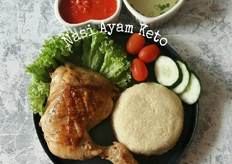 Nasi Ayam Keto #ReverseDiabetesObesity - velavinkabakery.com