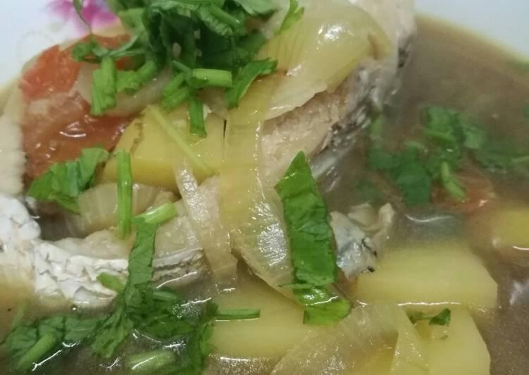 Resepi:  Sup Ikan Merah  Dirumah