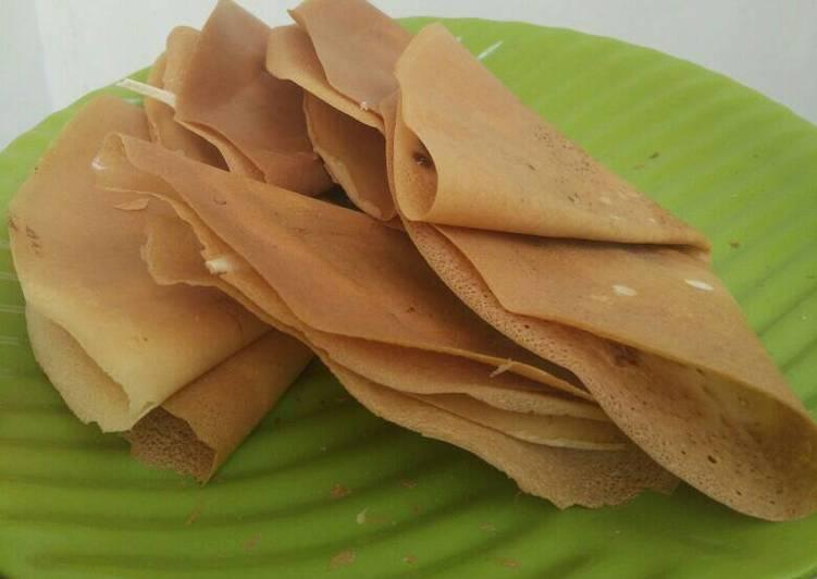 Resep Crepes Crispy Oleh Jihan Fatmawati Cookpad